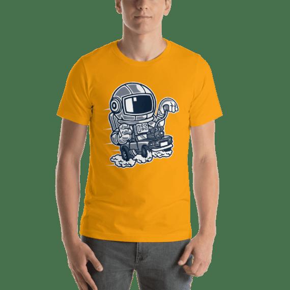 Space Racer Short Sleeve Unisex T-Shirt