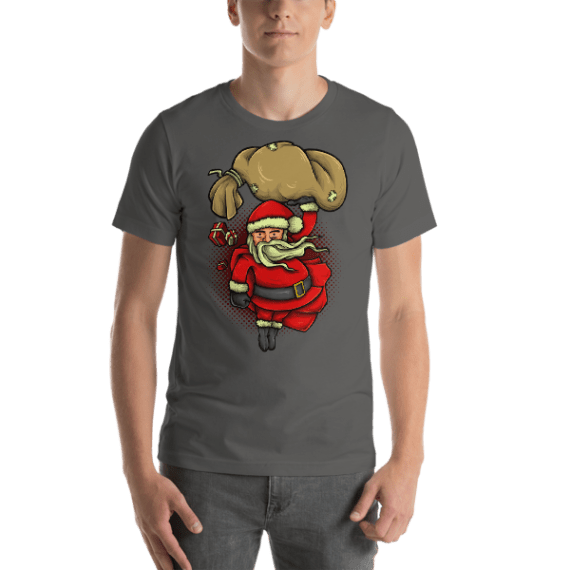 Super Santa Short Sleeve Unisex T-Shirt