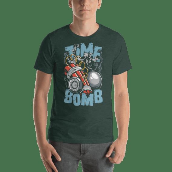Time Bomb Short Sleeve Unisex T-Shirt