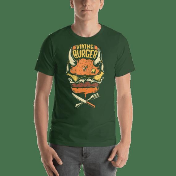 Viking Burger Short Sleeve Unisex T-Shirt