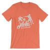 Women's Aloha Beach Paradise Short Sleeve T-Shirt