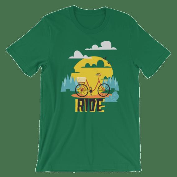 Women's Bicycle Ride Short Sleeve T-Shirt