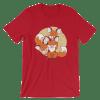 Women's Cute Foxes Short Sleeve T-Shirt