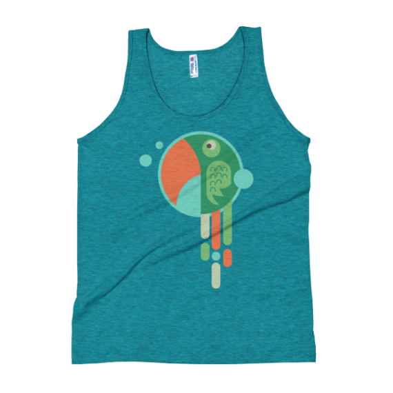 Women's Cute Parrot Tank Top