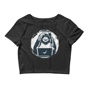 Women's Funny Ape Crop Top
