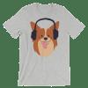 Women's Funny Dog Short Sleeve T-Shirt