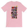 Women's Funny Shirts - I Love You From My Head Tomatoes Short Sleeve T-Shirt