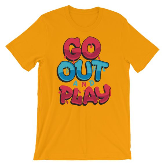 Women's Go Out And Play Short Sleeve T-Shirt