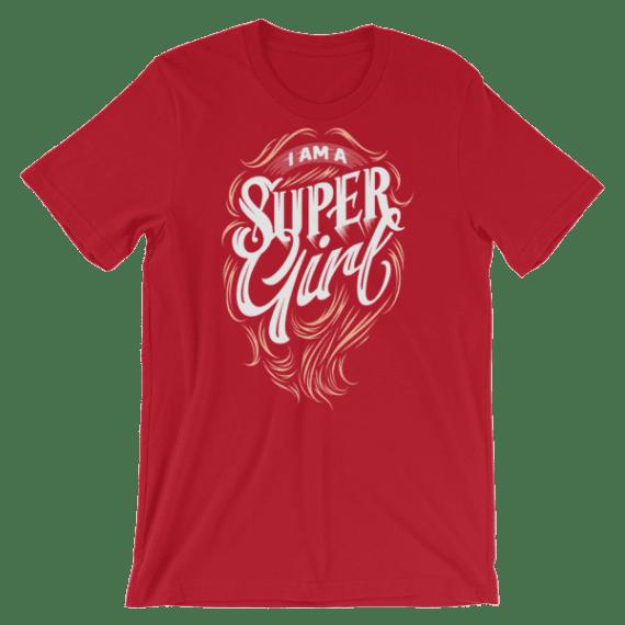 Women's I am a Super Girl Short Sleeve T-Shirt