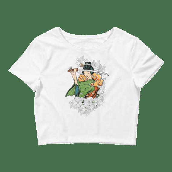 Women's Strong Girl Crop Top