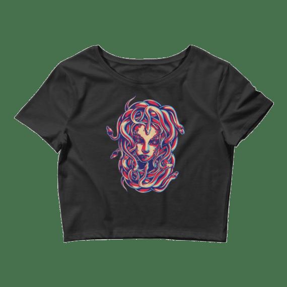 Women's Stunning Medusa Crop Top
