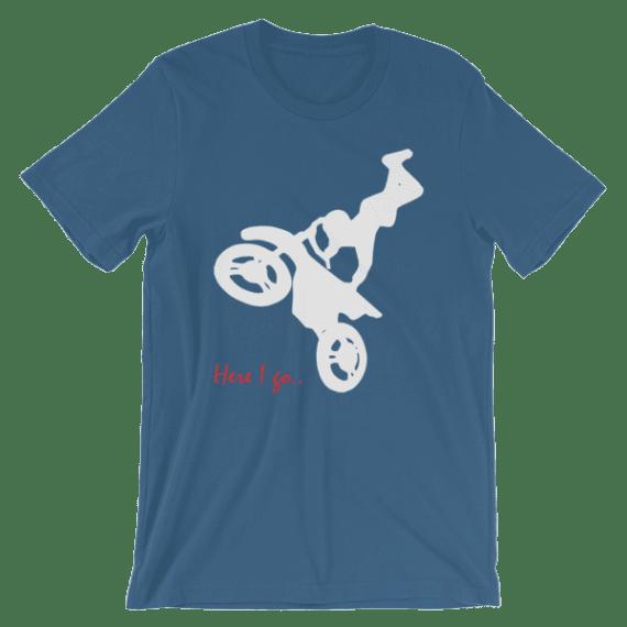 Women's Motorcycle Lover - Here I Go Short Sleeve T-Shirt