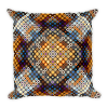Adorable Mosaic Square Square Pillow