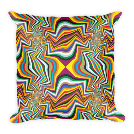 Beautiful Colors Spinning Square Pillow