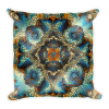 Decorative Mosaic Mandala Square Pillow