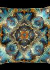 Decorative Mosaic Mandala Square Pillow