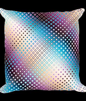 Decorative Ornamental Mandala Square Pillow