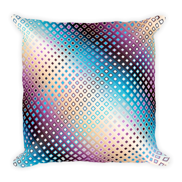 Decorative Ornamental Mandala Square Pillow