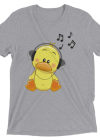 Romantic Duck Music Short sleeve t-shirt