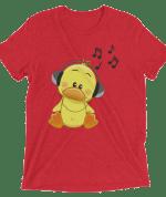 Romantic Duck Music Short sleeve t-shirt