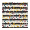 Spice And Herbs Stripes Square Pillow Case only
