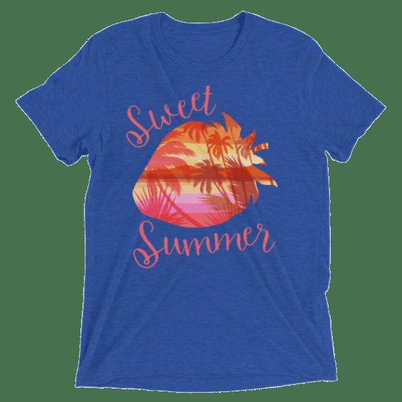 Sweet Summer Strawberry Short sleeve t-shirt