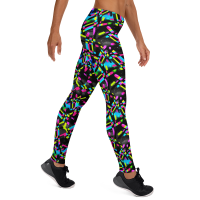 Super Comfortable & Colorful Leggings / Yoga Leggings, Yoga Pants, Women Tights, Printed Art Leggings, Workout Leggings, Womens Leggings, Print Tights, Sport Clothing