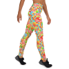 Super Soft Sweet Candies Yoga Leggings with Pockets - Best High Waisted Leggings Outfit for Girls -  Affordable & Trendy Yoga Leggings, Fashionable High Waist Workout Tights