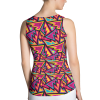 Best Bright and Crazy Colorful Workout Tank Top - Vibrant Fashion Yoga Tops
