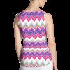 Exclusive Colorful Rainbow Nova Zigzag Striped Fashion Tank Top