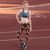 Skull Leggings Yoga Pants, Women's Sports Pants Fitness Running Sexy Scary Pants