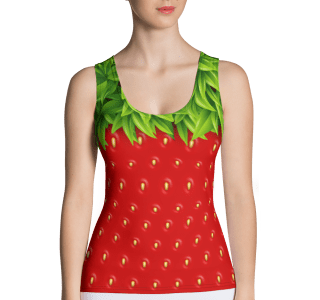 Sweet Strawberry Tank Top