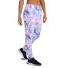 Women's Colorful Roses Beauty Running Joggers with Pockets, (XS-3XL) Relaxed Fit