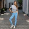 Best Energetic Blue Petals Leggings - Infinity Endless Love Leggings