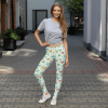 Colorful Modern Stylish Squat Proof Hearts Leggings - Sexy Going Out Leggings