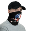 New American Skull and Bones Face Mask, Bandanna, Scarf, Neck Gaiter, Headwear, Headband Hair Cover, Mouth Cover, Nose Cover, Scarves