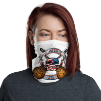 New Live Free or Die - Music Lover Skull Face Mask, Bandanna, Scarf, Neck Gaiter, Headwear, Headband Hair Cover, Mouth Cover, Nose Cover, Scarves