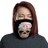 New Nurse Skull Protective Face Mask, Bandanna, Scarf, Neck Gaiter, Headwear, Headband Hair Cover, Mouth Cover, Nose Cover, Scarves