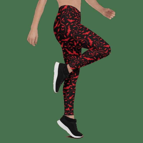 New Universal Bat Woman Leggings - Epic Spooky Batgirl Leggings for Women