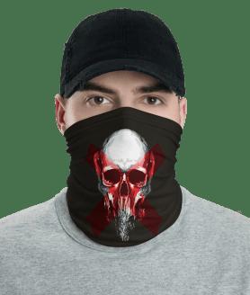 Protective Keep Your Distance - Skull Face Mask, Neck Gaiter, Headwear, Bandana