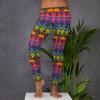 Ride On My Skin, Bring Me To Life Yoga Pants - Yalla Have Fun Tonight! Pants