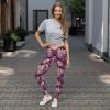World's Best Purple Delicate Flowers - New Super Popular Leggings Fashion Trends