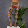Yoga Pants Lotus Flower - My Number One Lotus Flowers Leggings