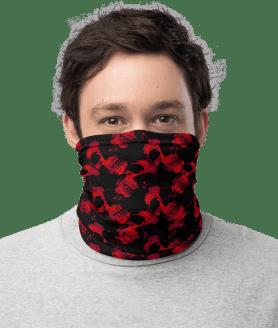 **High Quality** Red Skulls Face Mask ADULT Size Unisex Reusable Washable Masks