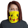 New Funny Protective Pikachu Pokemon Face Mask, Cute Anime Cartoon Face Mask, Neck Gaiter