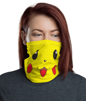 Pokemon Face Mask - Funny Face Mask