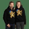 Unisex Cat Dabbing Hoodie, Cat Pullover Hooded Sweatshirt, New Funny Kitty Dabbing Hoodie