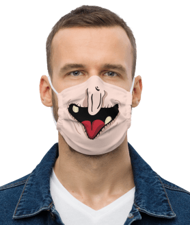 Halloween Reusable Safety Mouth Masks, Fashion Protective Washable Print Face Mask for Women Men