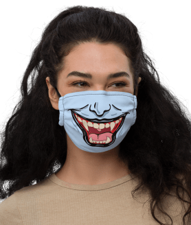Best Adjustable Halloween Face Masks | Protective, Durable, Washable Masks - One Size Fits All