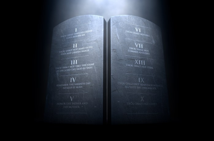 What are the Ten Commandments of God